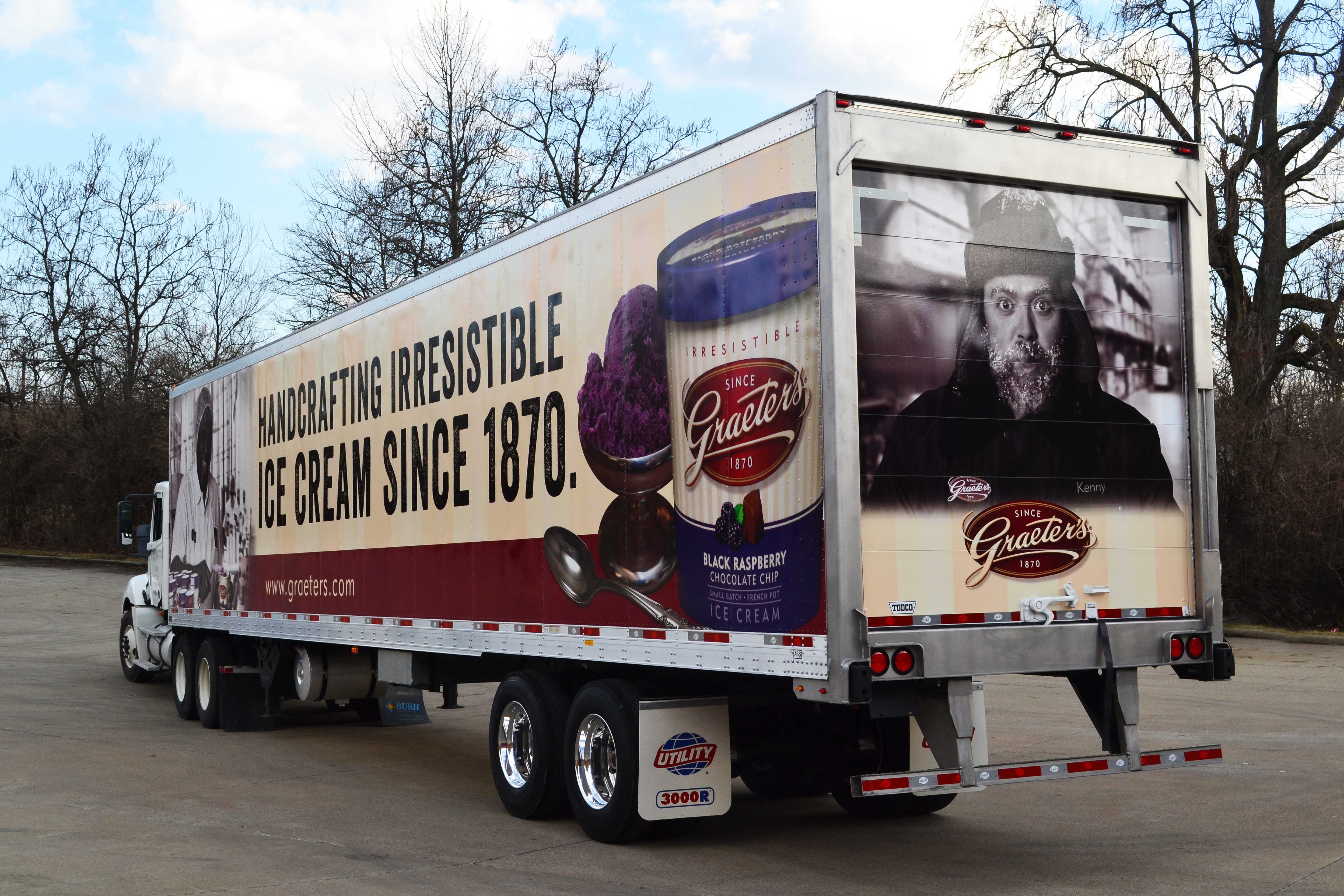 Types Of Tractor Trailers : Tractor trailer wraps for advertising advertisingvehicles