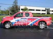 Suv wrap advertising