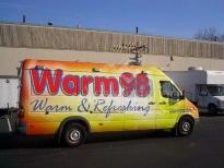 Vendor Van Wrapping