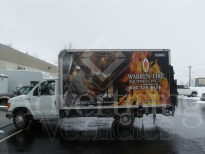 Box Truck Vehicle Wrapping