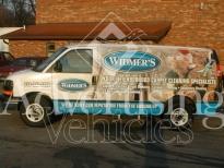 Advertising Van Wrap