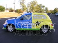 Wrapping Advertising Vehicle