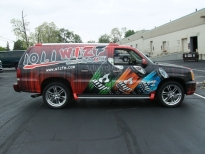Business Advertising on Vehicle