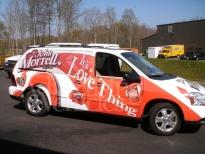 Ford Transit Vehicle Wrap