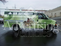 Ford transit vehicle Wrap Nashville