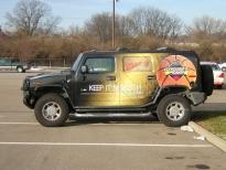 Radio Hummer Wrap