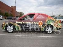 Radio Car Wrap Cleveland