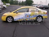 Car Advertising Wrap